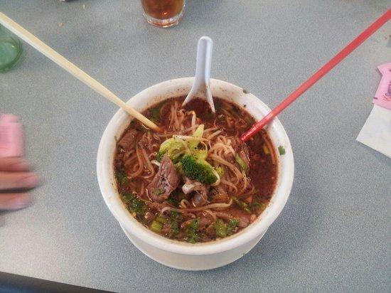 Thai Thai: #15 Beef noodle soup.