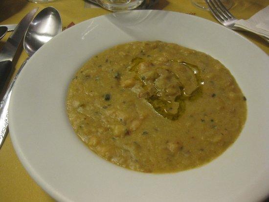 Trattoria Mario : tuscan bean soup... very good