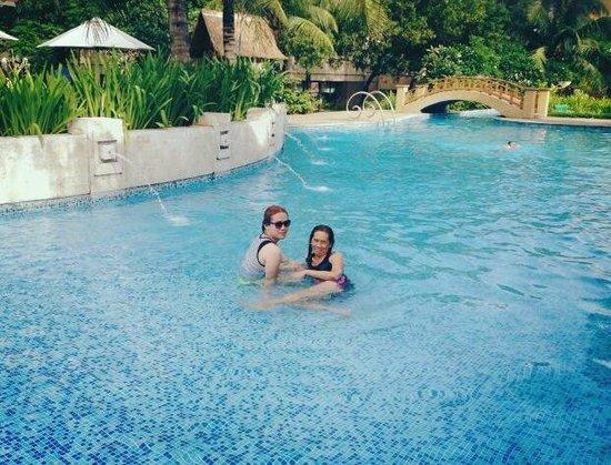 Radisson Blu Cebu : 2013 stay , fabulous pool