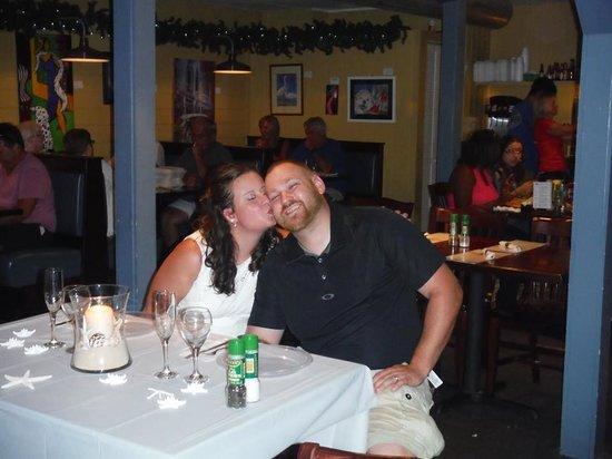 Sea Hag's Bar and Grill : Reception at Sea Hags