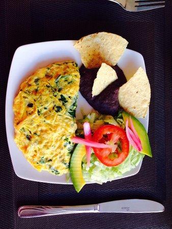 Merida Santiago hotel boutique : Maya breakfast
