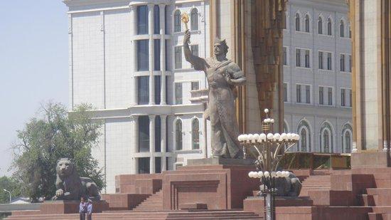 Dushanbe, Tadzjikistan: Ismoil Somoni