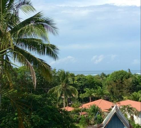 Hotel Belvedere - Playa Samara: Blick aus dem Frühstückszimmer