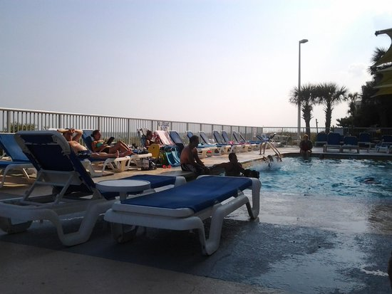 Seaside : pool deck