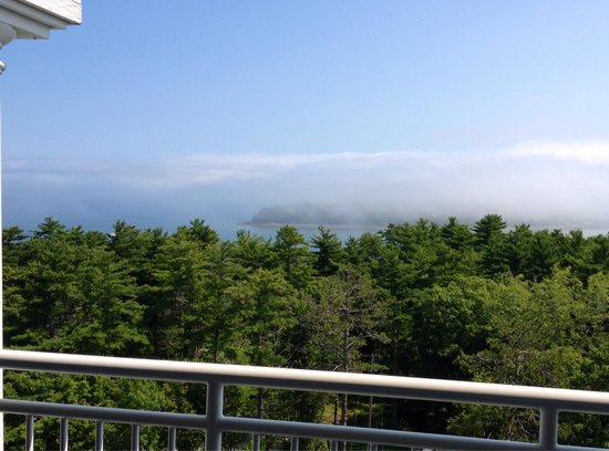 Bluenose Inn - A Bar Harbor Hotel: View from room 333.