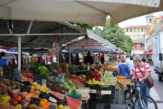 Vieille Ville de Nice : Рынок в Старом городе, Ницца