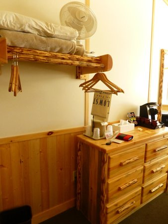"""Canyon Lodge and Cabins: Part of our """"Western Cabin"""""""