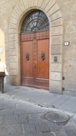 B&B Tourist House Ghiberti : Entrance to Tourist House Ghiberti
