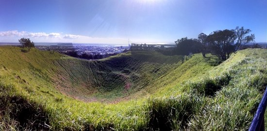 Mount Eden: Panorama view