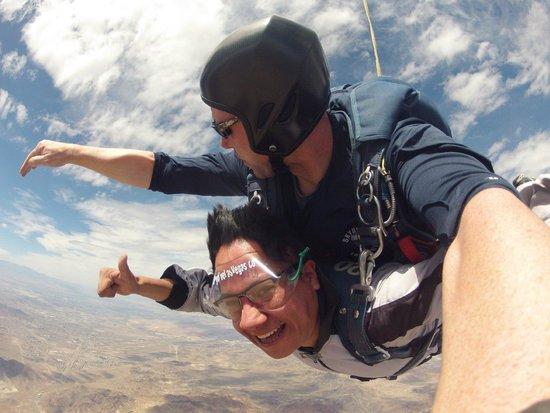 Skydive Las Vegas: Ahora sí a disfrutar.
