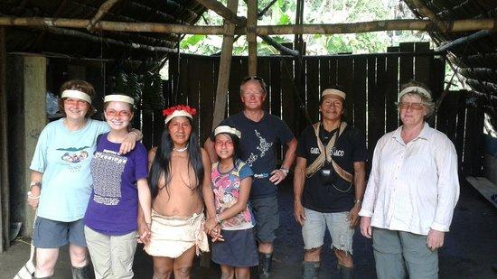 Huaorani Ecolodge: The travel group
