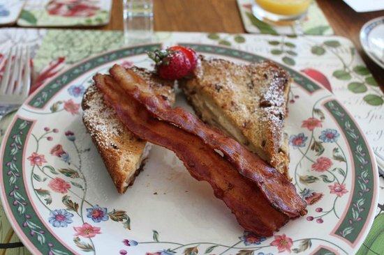 Howe Island B&B: Breakfast