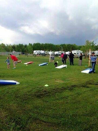 Mountain View Camping: Regular Cornhole Tournaments