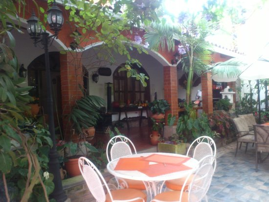 Hotel Casa Gabriela: Bello jardin