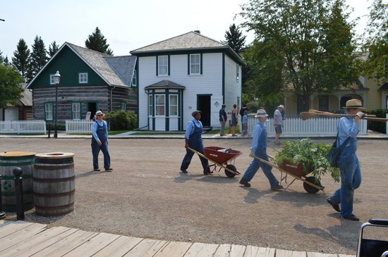Heritage Park Historical Village: staff
