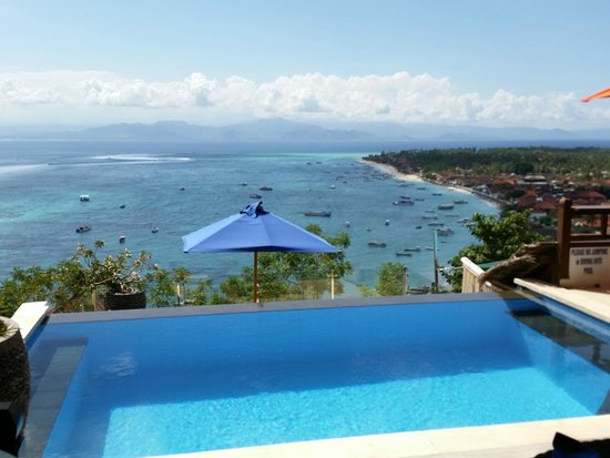 Lembongan Harmony Villas: The private pool with view!