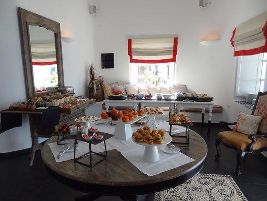 San Antonio Suites: Buffet du matin