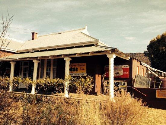 Trading Places Guest House : Von der Straßenseite