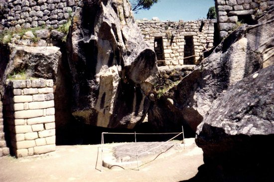 Temple of Condor: Se observan ambas  Alas extendidas  FABULOSA escultura