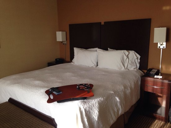 Hampton Inn & Suites Bakersfield/Hwy 58: Camera da letto
