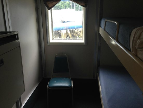 Alaska Marine Highway System - Day Cruises : 2 berth cabin with full facilities
