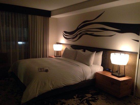 Nobu Hotel at Caesars Palace : Camera da letto