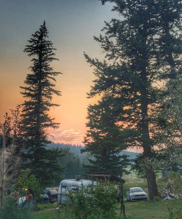 Sunset at Salmon Arm