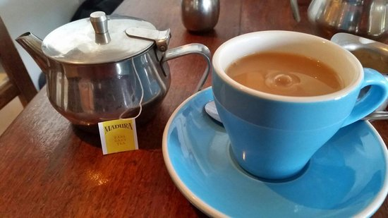Bluewater Cafe: Earl Grey tea, $3.50