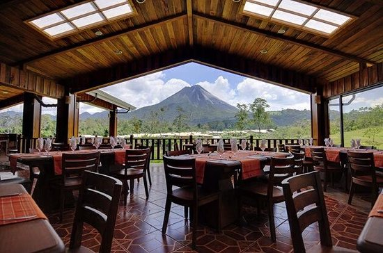 Arenal Manoa Hotel: Vista desde el restaurante