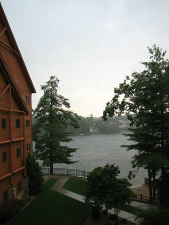 View from two-bedroom condo, Wilderness on the Lake