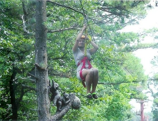 Wilderness on the Lake : Wilderness Canyon Zip-Line Tour