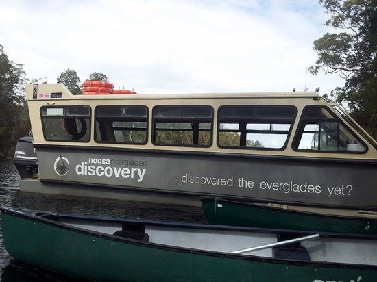 The Discovery Group: boat and cannoe
