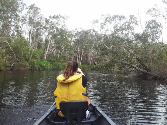 The Discovery Group: canoeing