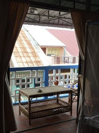 Ganesha Family Guesthouse: room 6 balcony