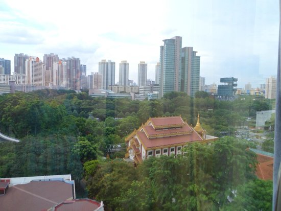 Ramada Singapore At Zhongshan Park: View overlooking the park and the city