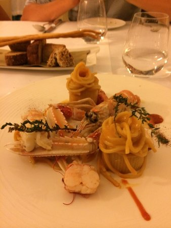 Duomo: Pasta with lobster
