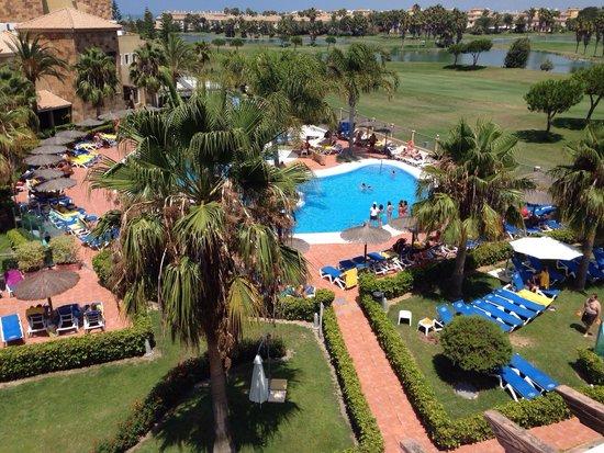 Elba Costa Ballena Beach Hotel: Magníficas vistas