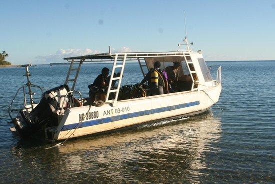 Babou Cote Ocean: Départ de palanquée