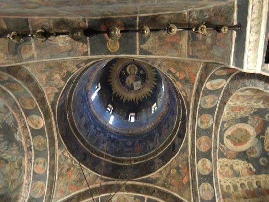 Église Stavropoleos : Interior of the Dome