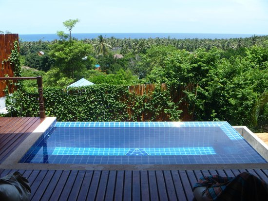 The Place Luxury Boutique Villas: Villa 9 private pool and view on the island