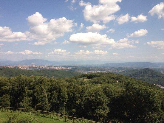 BlueBay Colle della Trinita Perugia : Panorama visibile dalla reception
