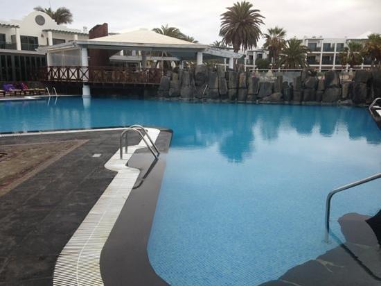 Las Marismas de Corralejo: pool area