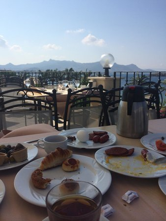 Yasmin Resort Bodrum: Breakfast view