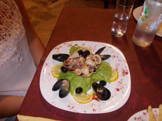 Terra Istriana: Insalata di mare