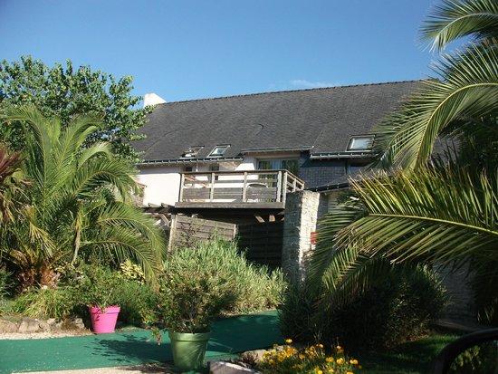 Carnac Lodge & Hotel: entrée de l'hôtel