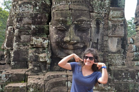 Journey Angkor: Smiling Buddha