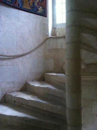 Le prieure de la chaise : Escalier tour Sud