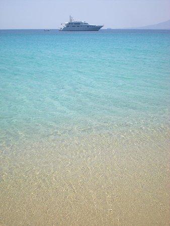 Agios Prokopios Beach: vista