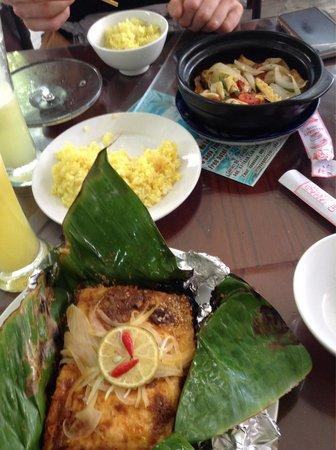 Minh Hien Vegetarian Restaurant: Stuffed tofu