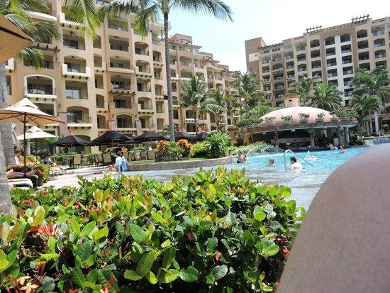 Villa La Estancia: View of hotel from beach